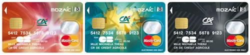 Crédit Agricole Provence Côte d'Azur Carte de paiement